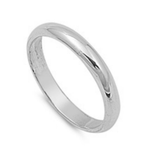 f8a98d50ba8d9 3mm Sterling Silver Wedding band Thumb Ring NWT